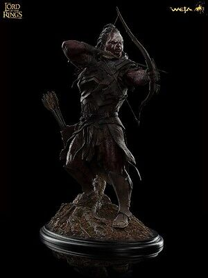 Weta Collectibles The Lord of the Rings Lurtz at Amon Hen Statue New