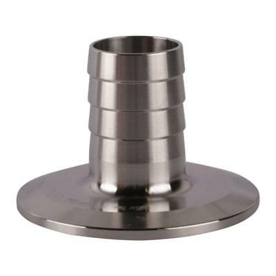 Rubber Hose Adapter | Tri Clamp/Clover 2 inch x 1 - Sanitary SS304