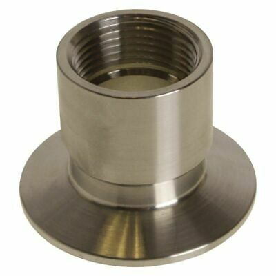 "Tri Clamp to FNPS Adapter | 1"" x 2"" - Sanitary Stainless Steel SS304"
