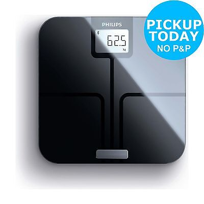 Philips DL8780 Bluetooth Body Weight Analysis Scale - Black.