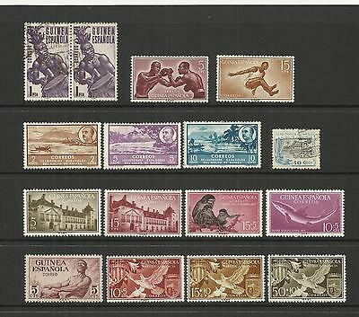 Espana Spain Colonies ~ Guinea (Small Mid-Modern Collection)  Mint Mh