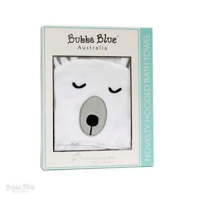 Bubba Blue Polar Bear Novelty Hooded Bath Towel (70x100cm)