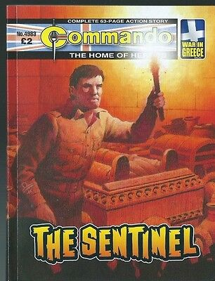 The Sentinel,commando The Home Of Heroes,no.4983,war Comic,2017