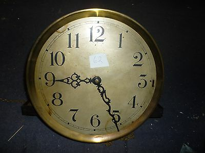 Art Deco Grandfather Clock 3 Weight Driven Chimeing Movement+11 ins Dial (62)
