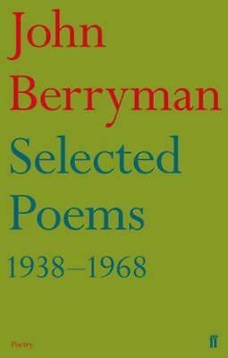 Selected Poems 1938-1968, Berryman, John, New Book