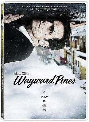 Wayward Pines: A Place to Die For, Season 1  (DVD 3 disc) Matt Dillon NEW