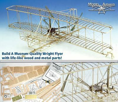 Model Expo Wright Flyer MA1020 Wood & Metal 1:16 Scale Kit $169.99 - Sale $99.99