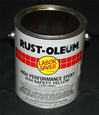 RustOleum High Performance DTM Epoxy Mastic Paint Safety Yellow Industrial 9144