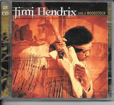 2 Cd Album Live 16 Titres--Jimi Hendrix--Live At Woodstock