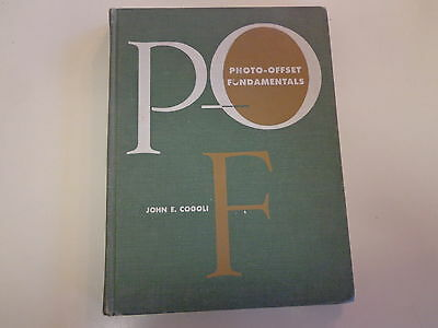 Photo-Offset Fundamentals 1960 Vo-tech Textbook Trade School Advertising lay-out