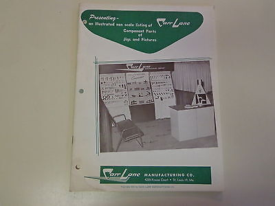 Carr Lane Manufacturing Jigs and Fixtures Machinist Catalog 1958 Tools