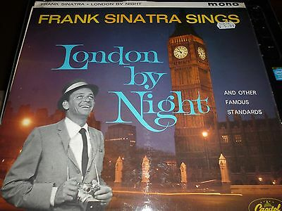 FRANK SINATRA London by Night Vinyl LP Capitol T-20389 Mono 6/54