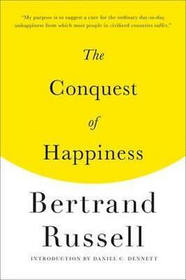 NEW The Conquest of Happiness By Bertrand Russell Paperback Free Shipping