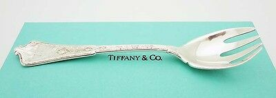 """Antique Tiffany & Co. 1872 Persian Pattern 5-7/8"""" Fork in Sterling Silver"""