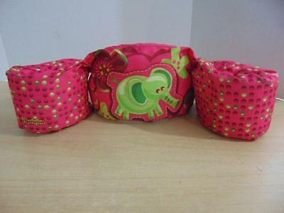 Life Jacket Children's Size 30-50 Pound Stearns Puddle Jumpers Pink Elephant