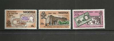 NIGERIA ~ 1984 NIGERIAN CENTRAL BANK 25th ANNIV. (MNH)