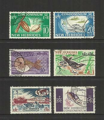 New Hebrides (Vanuatu) ~ 1963-65 British & French Issues (Postally Used)