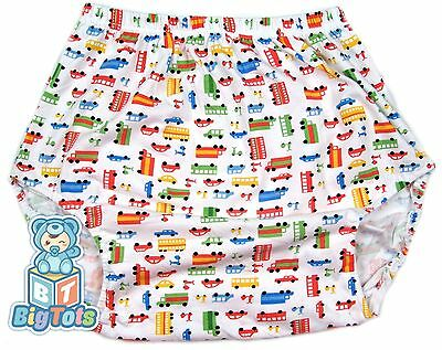 Adult Baby  TRANSPORTATION baby pants *Big Tots *