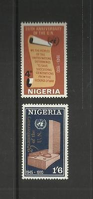 NIGERIA ~ 1970 U.N.O. 25th ANNIVERSARY (MNH) UNITED NATIONS