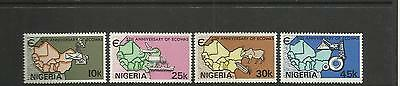 NIGERIA ~ 1980 ECOWAS 5th ANNIV. (MH) ECONOMIC COMMUNITY WEST AFRICA