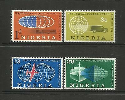 Nigeria ~ 1961 Admission Into U.p.u. (Mint Set Mh)