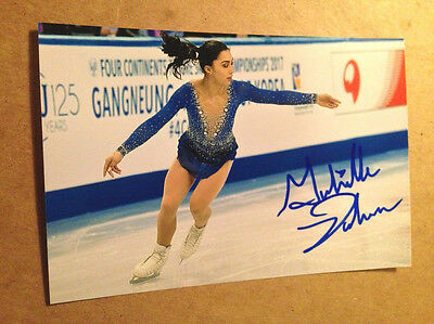 Gabrielle Daleman SIGNED 4x6 photo Figure Skating CANADIAN NATIONAL CHAMPION