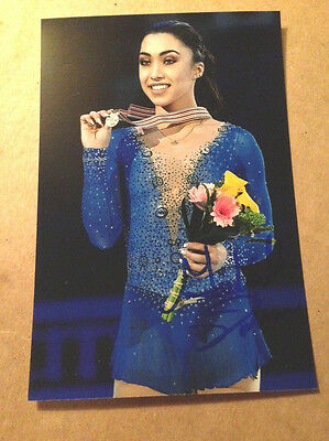 Gabrielle Daleman SIGNED 4x6 photo Figure Skating CANADIAN NATIONAL CHAMPION #2