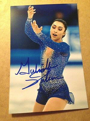 Gabrielle Daleman SIGNED 4x6 photo Figure Skating CANADIAN NATIONAL CHAMPION #3