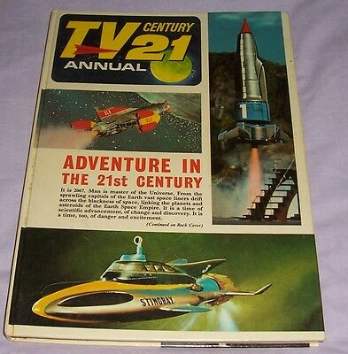 1967 Tv21 Century Annual, City Magazines, Not Price-Clipped,ex.condition