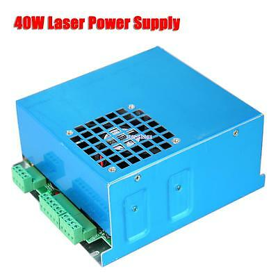 AC 110V/220V 40W CO2 Laser Power Supply For Engraver Engraving Cutter Machine