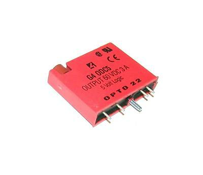 New Opto 22 G4 0Dc5  Solid State Output Relay Dry Contact 5 Vdc Logic