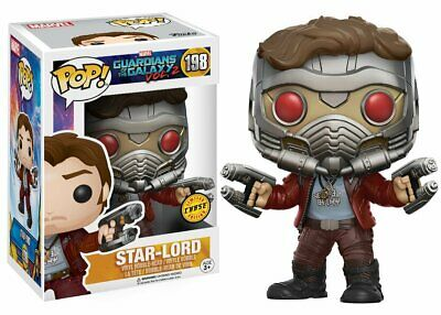 Funko Movies Guardians Of The Galaxy 2 Star-Lord Chase Action Figure