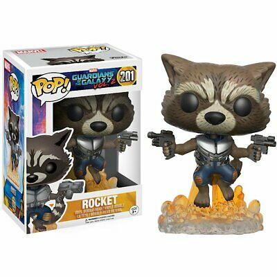 Funko Movies Guardians Of The Galaxy 2 Flying Rocket Action Figure