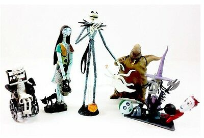 The Nightmare Before Christmas Trading Figure Series 1 Set Of 6 BRAND NEW