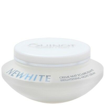 Guinot Facial Brightening Newhite Creme Nuit Eclaircissante Night Cream 50ml for