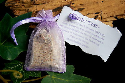 LITTLE BAG OF FAIRY DUST  Wicca Pagan Fey Faerie Magic Gift