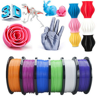 3D Printer Filament ABS PLA 1.75mm 1kg/roll 10+color Print Material Aussie Stock