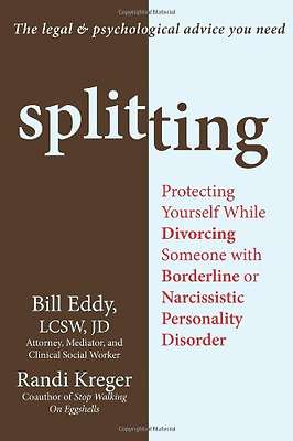 Splitting: Protecting Yourself While Divorcing Someone  - Paperback NEW Eddy, Bi
