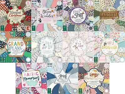 Dovecraft First Edition Bastelpapier 6x6 Scrapbooking volle Packung oder Quarter