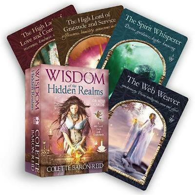 Wisdom of the Hidden Realms Oracle Cards [With Booklet] by Colette Baron-Reid (E