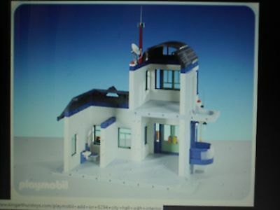 playmobil police station how to build