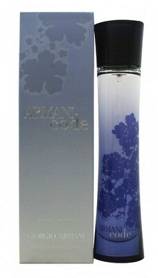 Giorgio Armani Code Eau De Toilette 50Ml Spray - Women's For Her. New