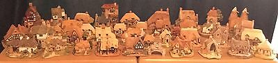 Large Collection Of 40 Lilliput Lane Building / Houses / Shops