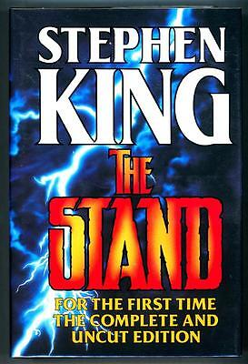 The Stand by Stephen King First Edition, thus.- High Grade