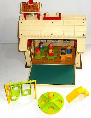1971 - 78 Vintage Fisher Price Little People ~ #923 PLAY FAMILY SCHOOL