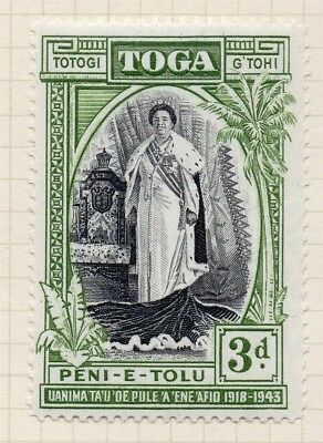 Samoa 1944 Early Issue Fine Mint Hinged 3d. 154248
