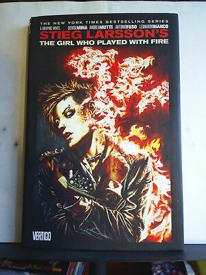 GRAPHIC NOVEL: THE GIRL WHO PLAYED WITH FIRE - STIEG LARSSON Hardback