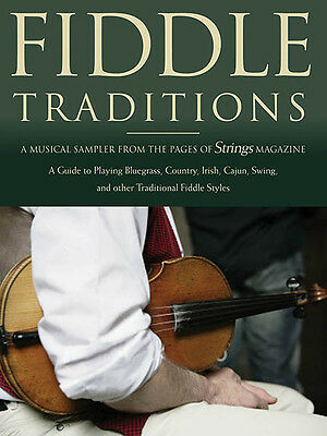 Fiddle Traditions Learn to Play Bluegrass Country Irish Violin Lessons Book NEW
