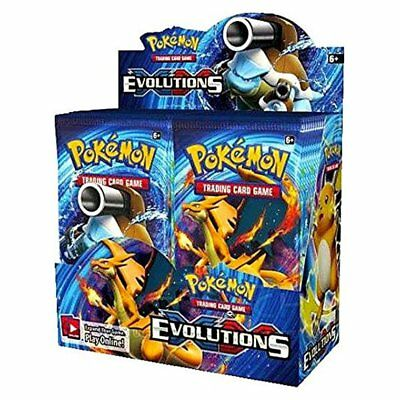 Pokemon TCG Card Game XY Evolutions Factory Sealed Booster Box - 36 packs