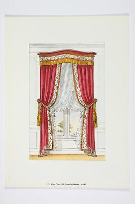 Chelsea Curtains  - High Quality Vintage Art 19th Century